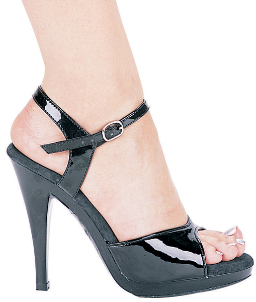 4 1/2 Inch Stiletto Heel Open Toe Sandal