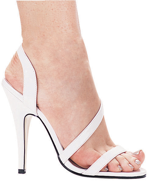 5 Inch Stiletto Heel Strappy Sandals