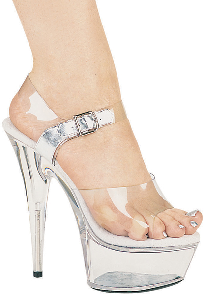 6 Inch Stiletto Heel Platform Sandals