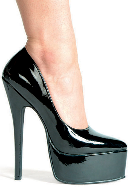 6 1/2 Inch Stiletto Heel Platform Pumps
