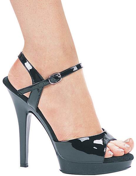 5 Inch Stiletto Heel Open Toe Platform Sandals